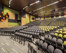 Deakin University - Building HC Lecture Theatre - Au.diSlot, Au.diSlat, Au.diTouch_Au.diImage Rock Maple (2)