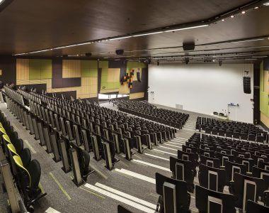 Deakin University - Building HC Lecture Theatre - Au.diSlot, Au.diSlat, Au.diTouch_Au.diImage Rock Maple (4)