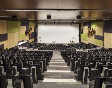 Deakin University - Building HC Lecture Theatre - Au.diSlot, Au.diSlat, Au.diTouch_Au.diImage Rock Maple (3)